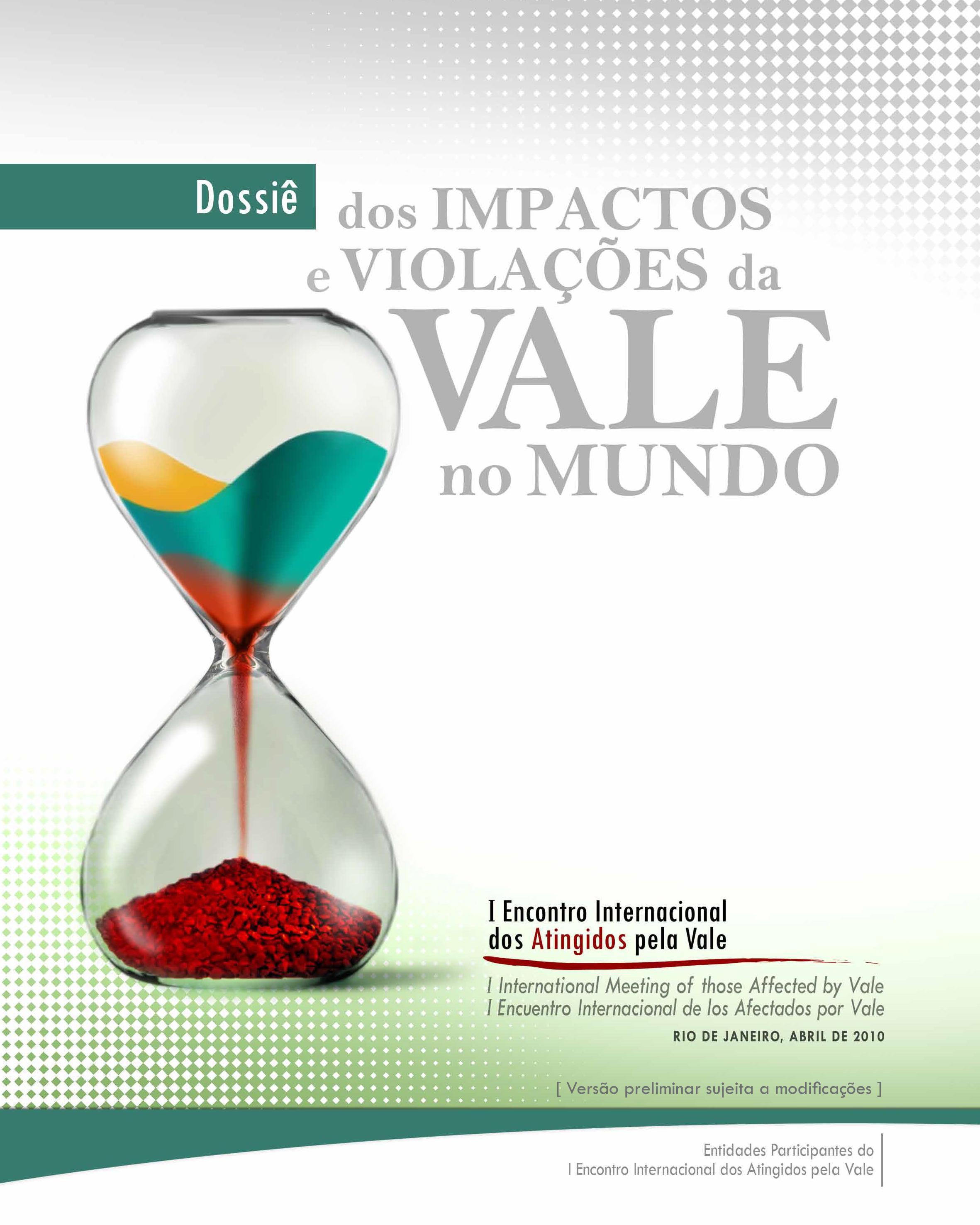 Cartilhas IMPACTOS VIOLACOES VALE 2010 leitura 1