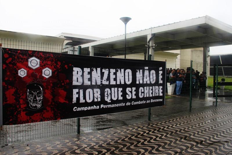 Justiça obriga Petrobrás a reconhecer exposição ao benzeno Benzeno LP 1