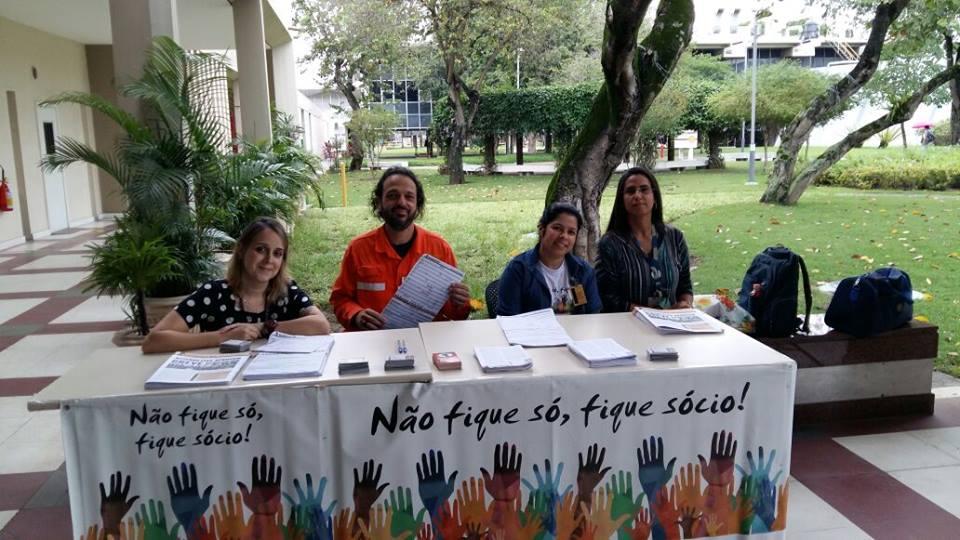 Campanha de filiação ao Sindipetro-RJ continua nesta sexta (24), no Tebig CENPES