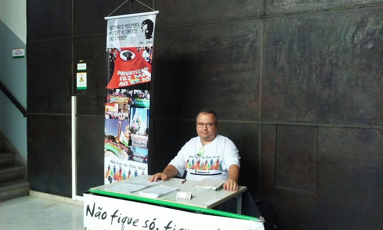 Campanha de sindicalização 'Não Fique só, Fique Sócio!', está perto de você petroleiro(a)! Luiz m  rio campanha