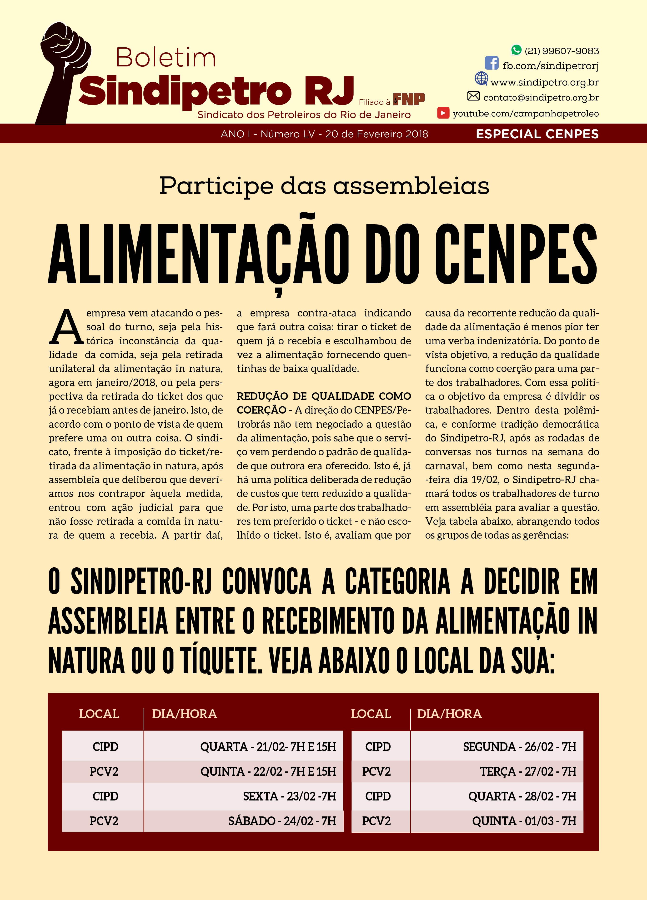 Boletim 55 Boletim Sindipetro 55 NOVO ESPECIAL CENPES