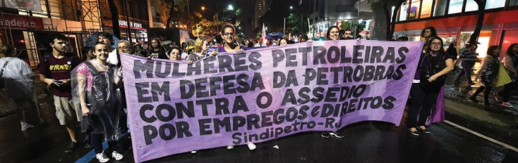 8M ocupa o Brasil BmRio