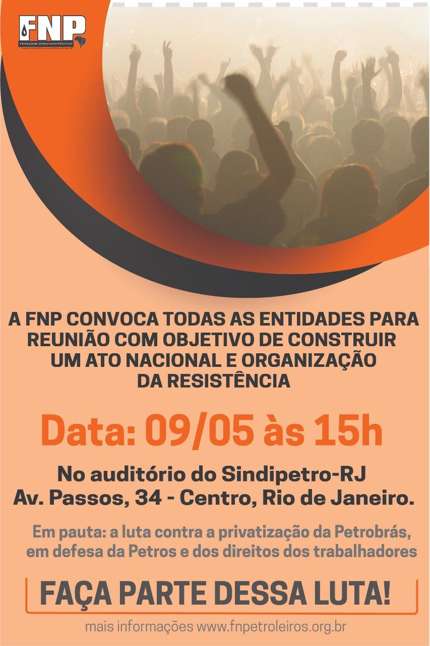 Truculência e arrogância de dirigente da FUP tumultua ato no EDISE Renui  o 9 de maio
