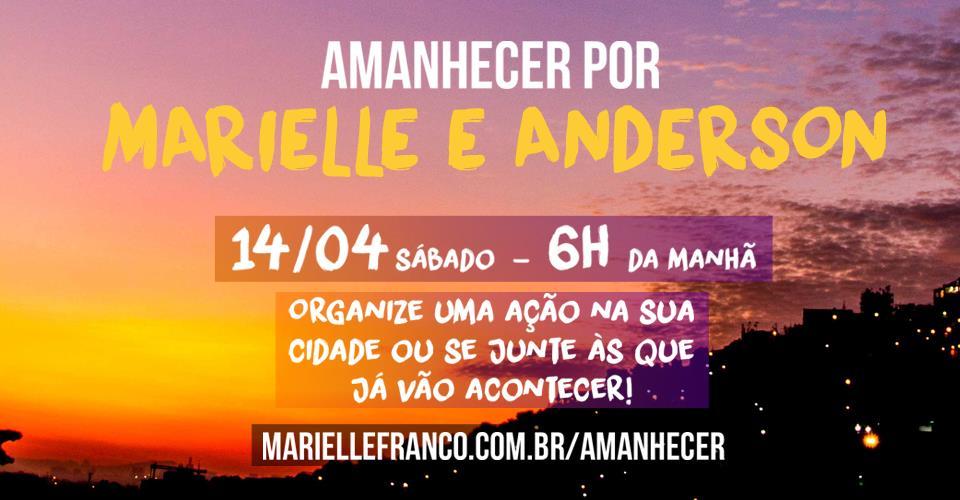Amanhecer por Marielle e Anderson amanhecer