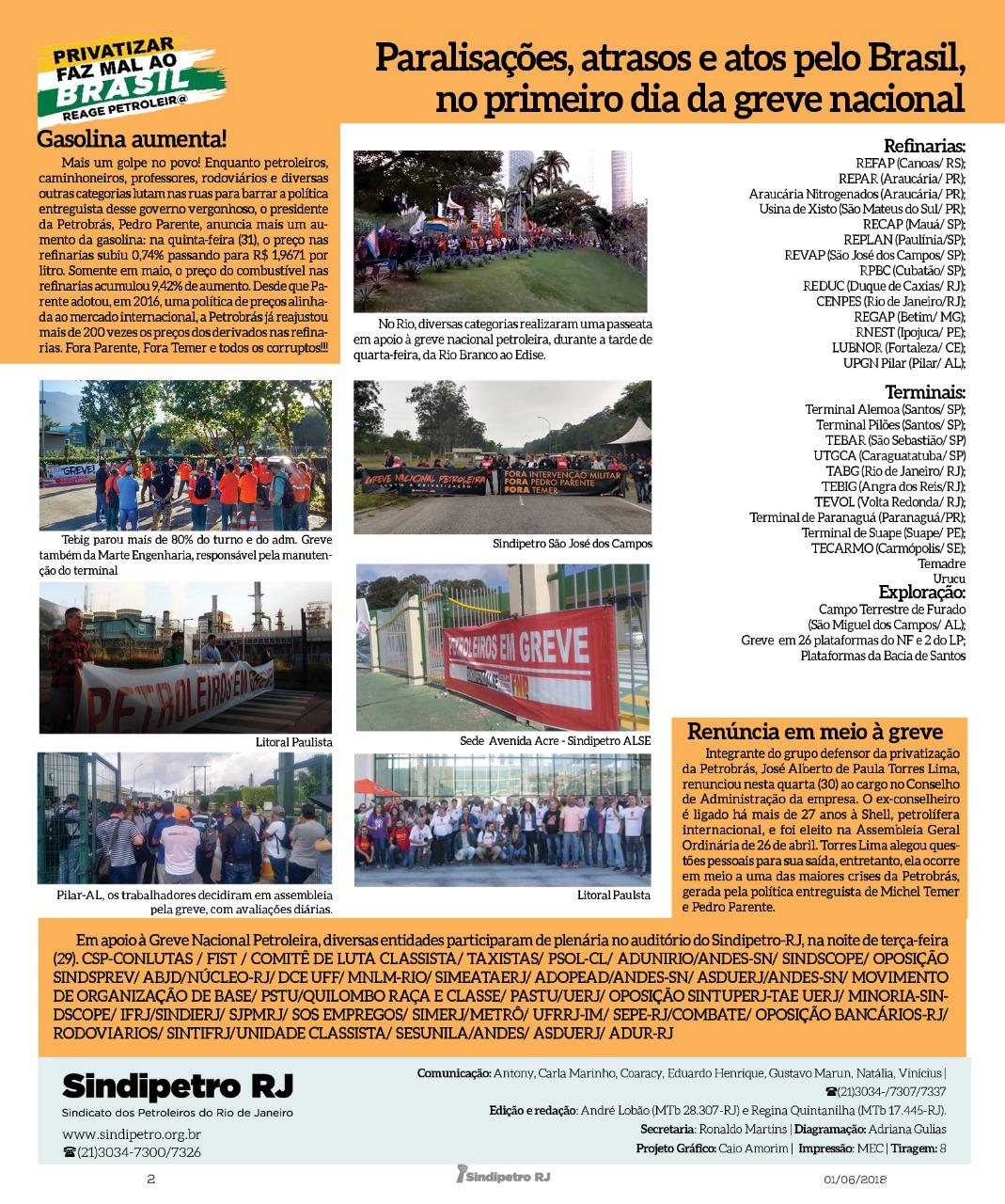 Assembleias de grevistas na entrada do expediente avaliam continuidade do movimento IMG 20180531 WA0066