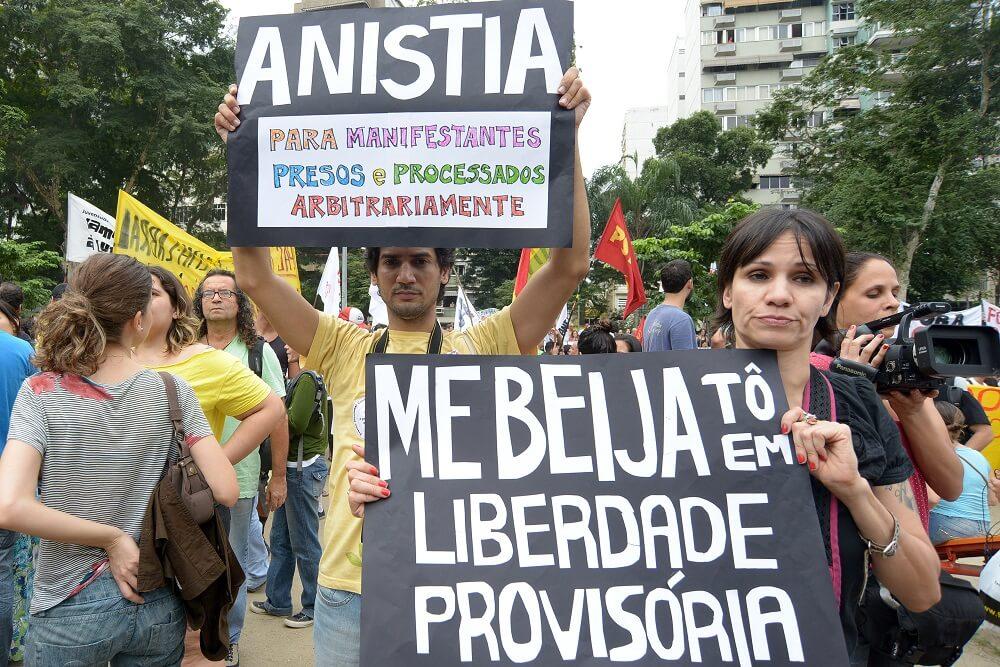 Solidariedade aos 23 e a Rafael Braga Fot Samuel Tosta32268