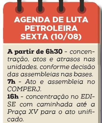 Dia 10 de agosto: Dia do Basta! agenda atos