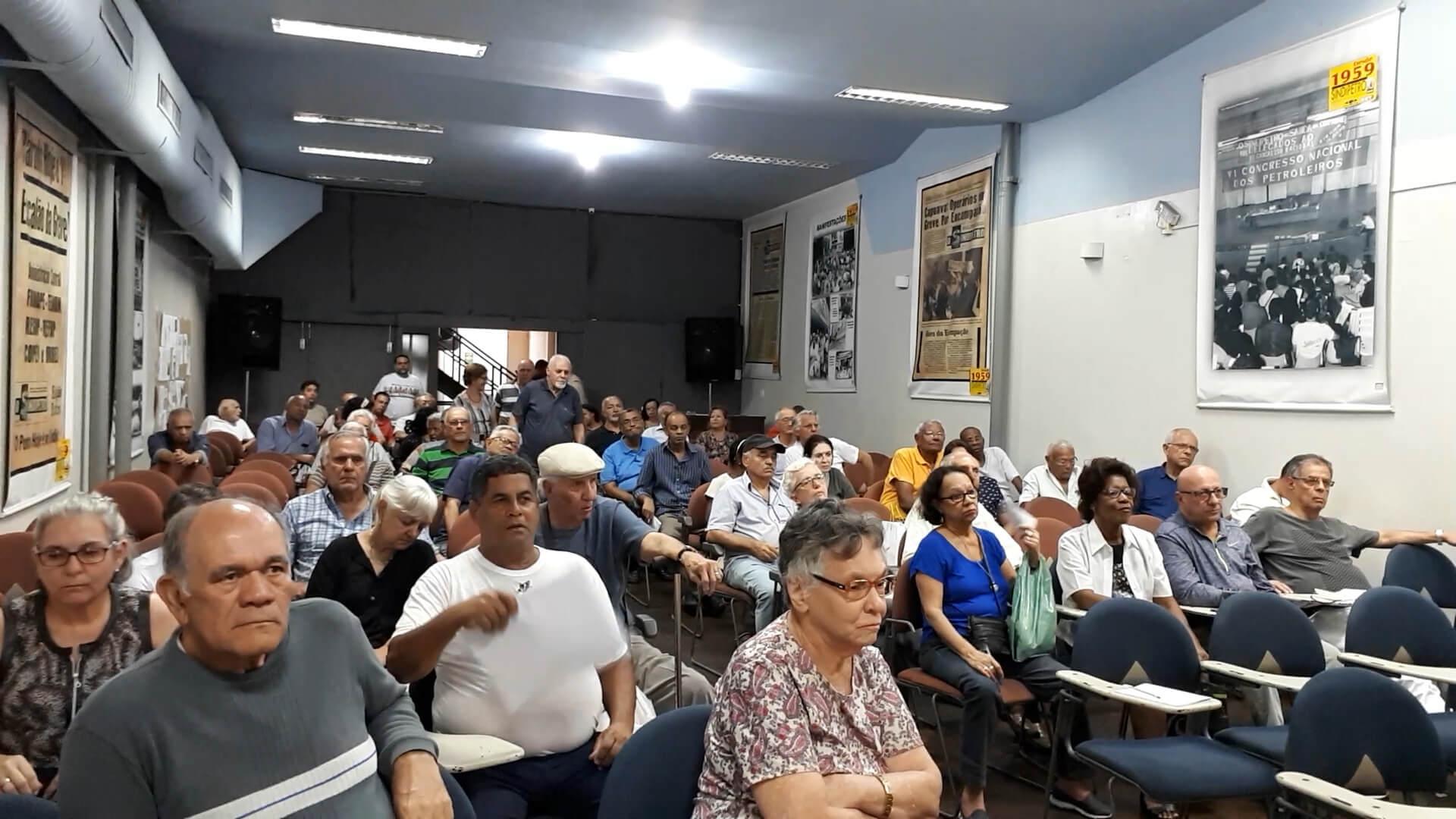 Reunião dos aposentados debate proposta alternativa ao PED APOSENTADOS