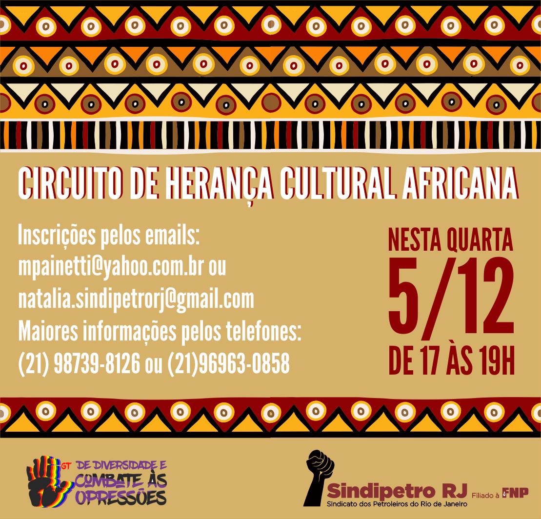 Circuito de Herança Cultural Africana africa  Palestra: 1988, a greve na CSN africa