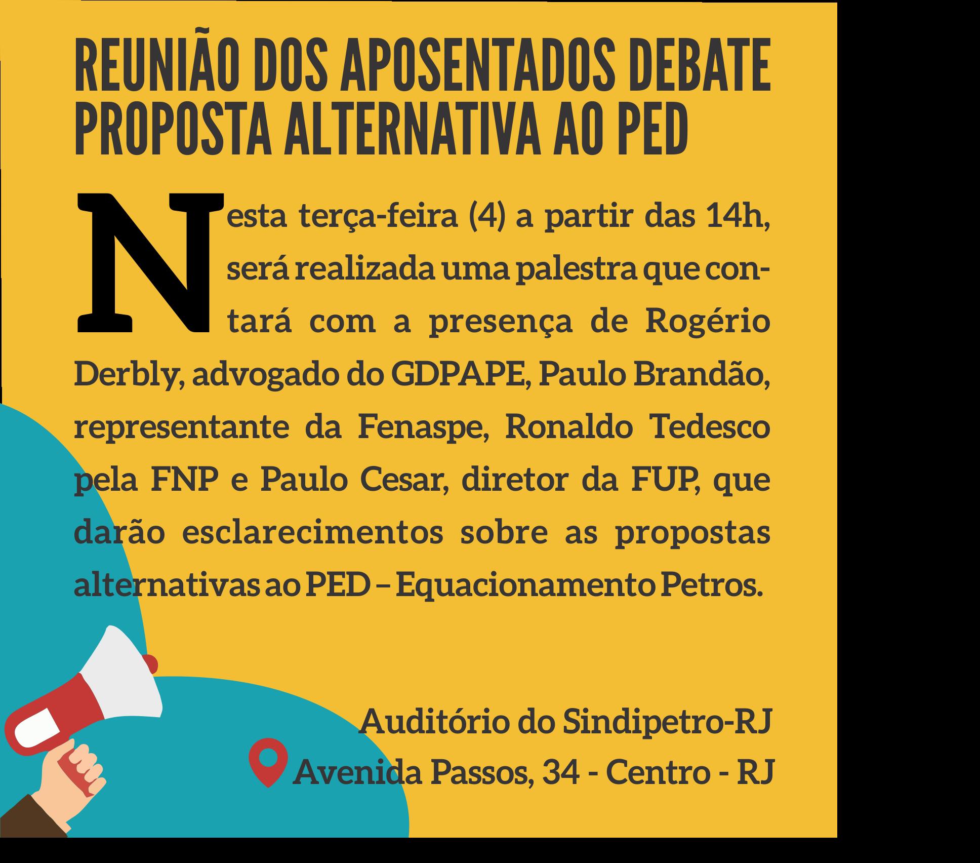 REUNIÃO DE APOSENTADOS DEBATE PROPOSTA ALTERNATIVA AO PED aposentados 1  Palestra: 1988, a greve na CSN aposentados 1