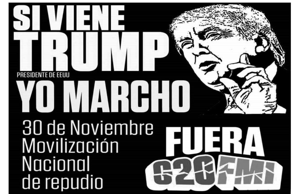 G20 en Argentina prepara ataques a los trabajadores g20 trump2