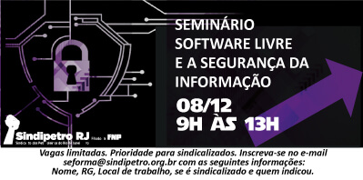 Seminário sobre Software Livre e a Segurança da Informação livre 1  Palestra: 1988, a greve na CSN livre 1
