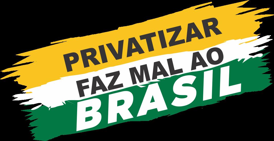 Bolsonaro mantém o saque das riquezas nacionais em favor de empresas internacionais privatizar faz mal ao brasil