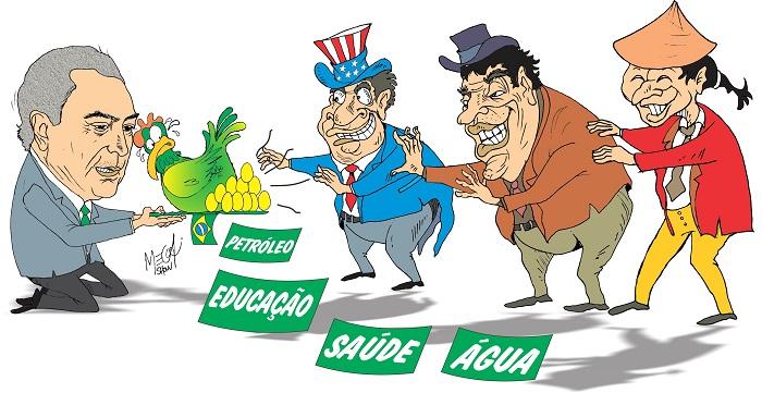 Leilão do Pré-sal é privatização LEIL  O DO TEMER