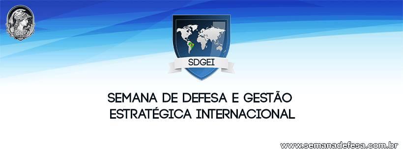 Semana de Defesa e Gestão Estratégica Internacional Semana