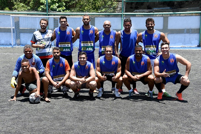 1ª Copa Sindipetro-RJ de Futebol Society – imagens da final Reduquiense