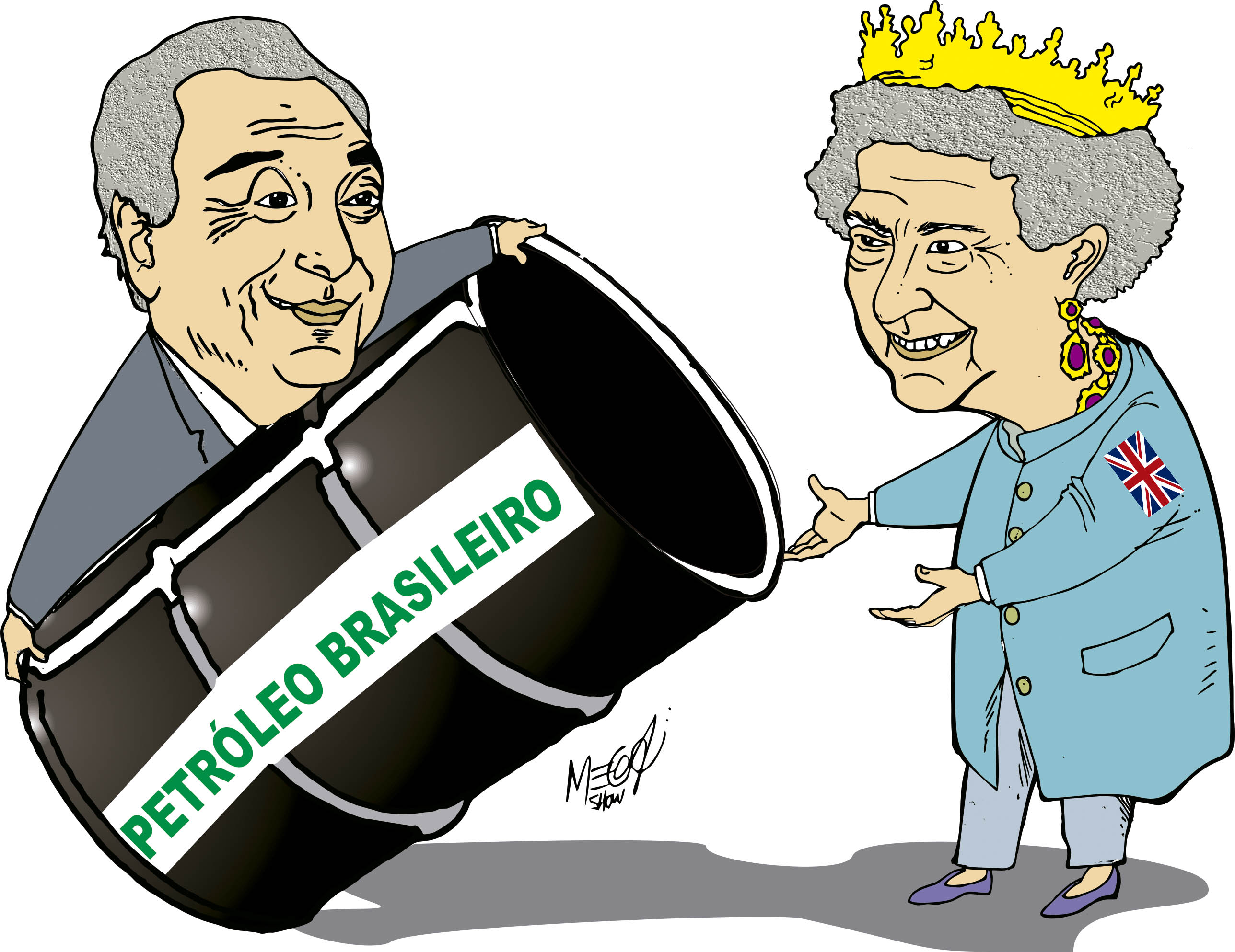 Mercado se apossa do CA da Petrobrás TEMER ENTREGANDO PARA OS BRITANICOS