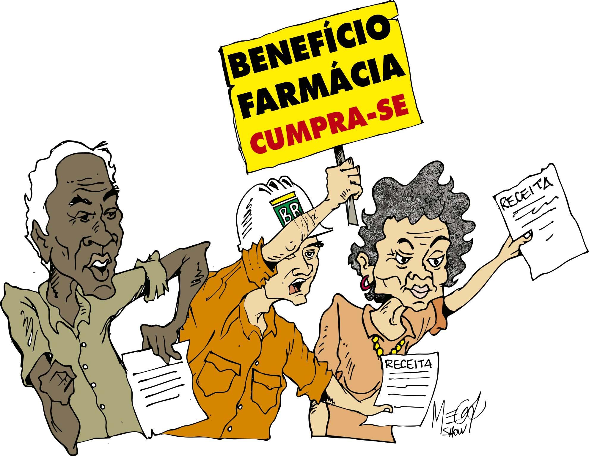 Benefício Farmácia: protocolos aprovados até o dia 20/08 serão pagos no dia 25/09 Benef  cio Farm  rcia