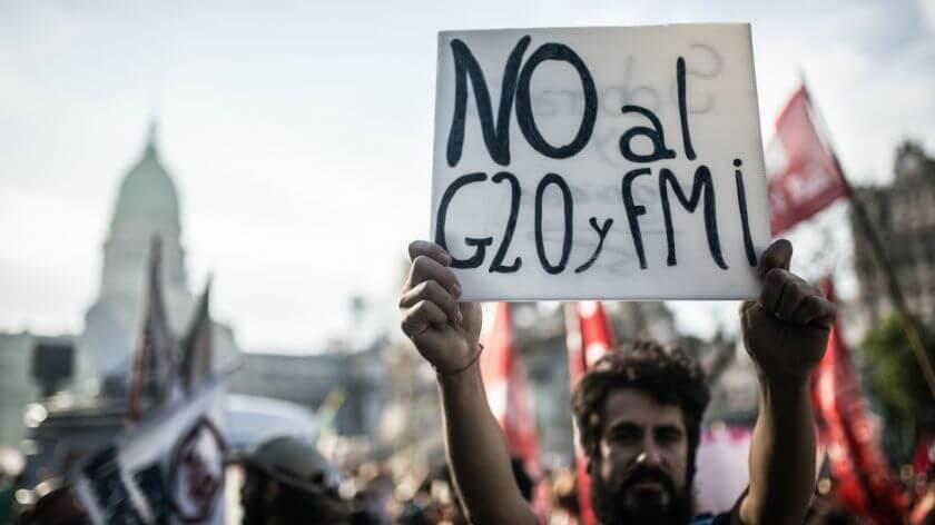 Sindicato presente na luta contra os ajustes propostos pelo G20 fotos marcha g20 dpa 477509