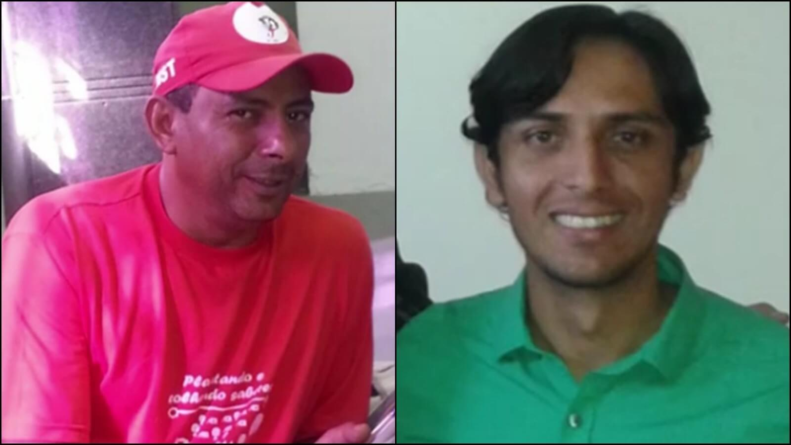 Dois trabalhadores do MST são assassinados em acampamento na Paraíba orlando e rodrigo mst