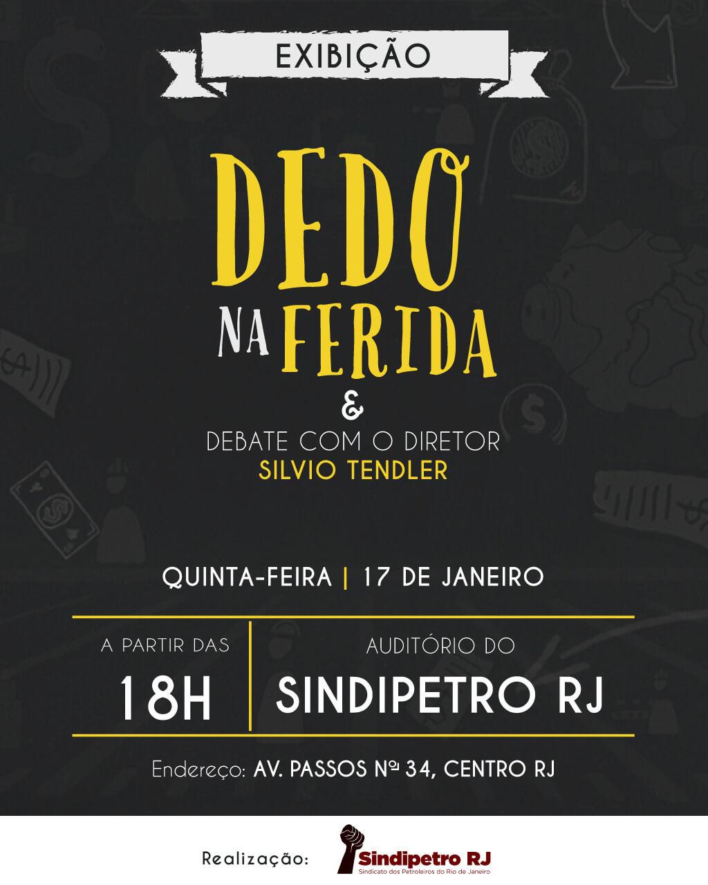 Sindipetro-RJ exibe novo documentário de Silvio Tendler WhatsApp Image 2018 12 28 at 08