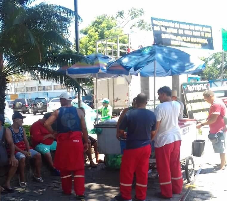 Portuários em greve em Angra dos Reis WhatsApp Image 2019 01 10 at 18