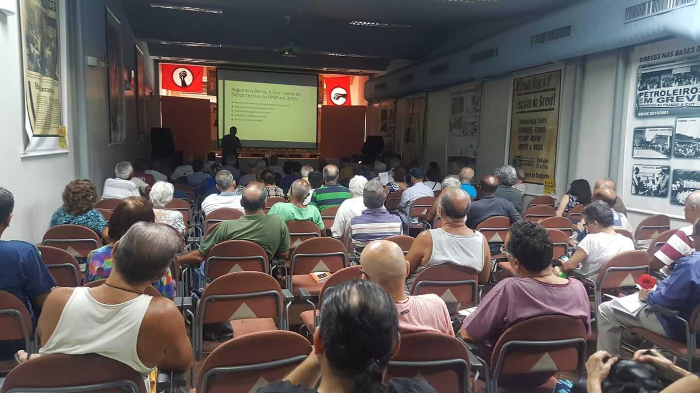 Aposentados: mobilizações e unidade continuam em 2019 reuni  o aposentados 8 1 19
